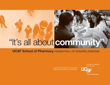 It's All About - University of California, San Francisco