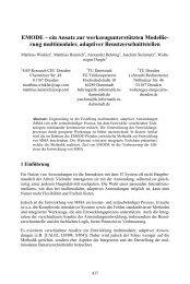EMODE – ein Ansatz zur werkzeugunterstützten Modellie- rung ...
