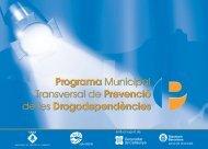 programa municipal transversal de prevenció de les ...