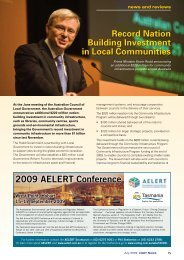 July 2009 - News and Reviews - Local Government Association of ...
