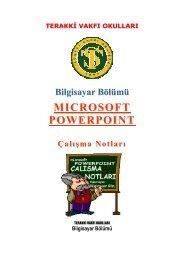 MS Powerpoint Ders Notları
