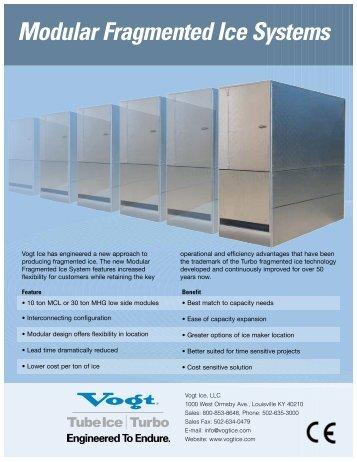 vogt ice machine service manual