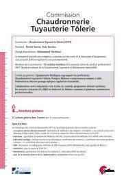 Fiche Commission Chaudronnerie - Juin 2013 (300 Ko) - Cetim