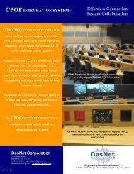 CPOF Integration System - DasNet Corporation