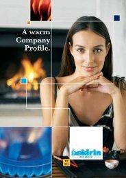 A warm Company Profile. - Watergas