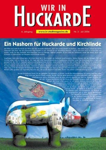 Ein Nashorn für Huckarde und Kirchlinde - Alter Bahnhof
