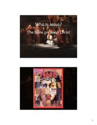 Who Is Jesus? - Richard G. Howe