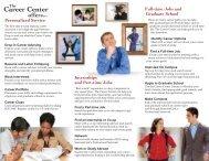 8-08 Single brochure mockup FINAL.indd - The Career Center ...