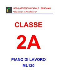 2A - Liceo Artistico Statale di Bergamo