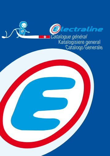 Catalogue général Catalogo Generale - Electraline