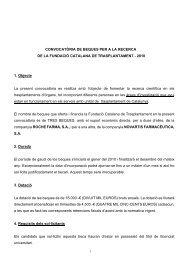 bases convocatoria beques i premis fct 2010 - Acadèmia de ...