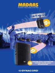 high-end aktiv lautsprecher systeme für pro audio ... - Dynacord