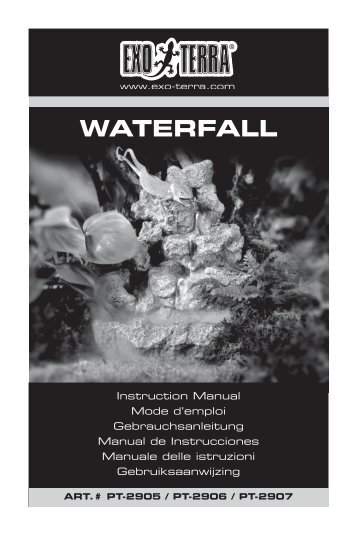 WATERFALL INSTRUCTION BOOKLET.indd - Exo Terra