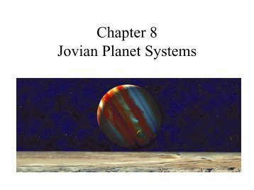 Jovian Planet Systems