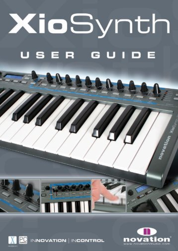 Read the XioSynth User Guide! - Sweetwater.com