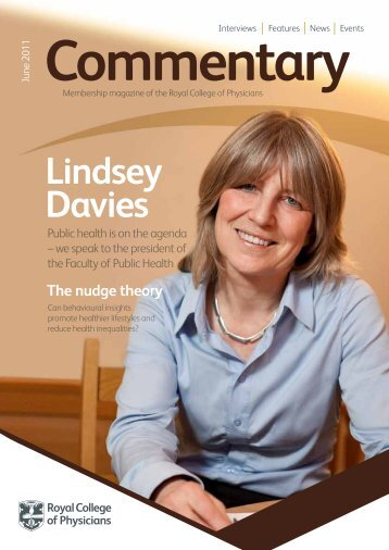 Lindsey Davies: Q&A - Royal College of Physicians