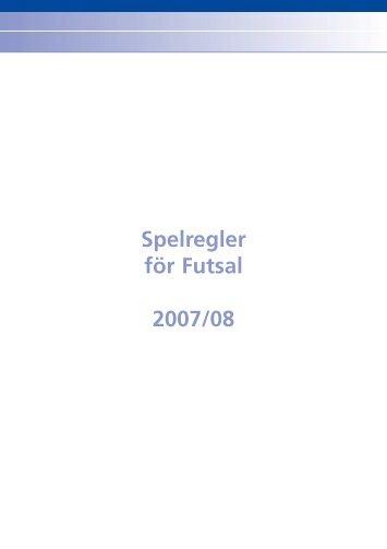 Spelregler för Futsal