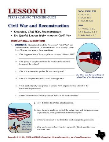 June 2004 Civil War Reconstruction Your History Site