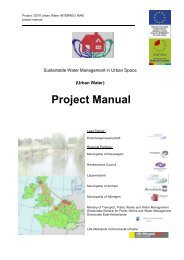 Project Manual - Urban Water - Böhm und Partner