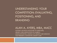 Understanding Your Competition - Alan Ayers Biography and ...