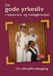 Det gode yrkesliv i restaurant- og matfagbransjen Om ...