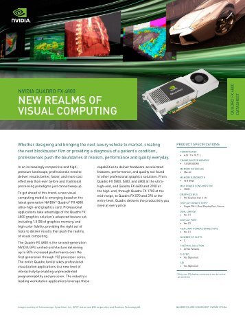 Quadro FX 4800 Datasheet - Nvidia