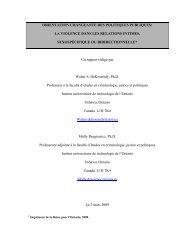influencer l'orientation des politiques publiques - Springtide ...