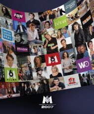 Rapport annuel 2007 - Groupe M6