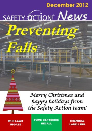 December 2012 - Safety Action