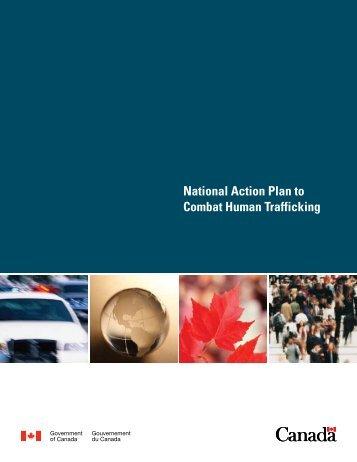 National Action Plan to Combat Human Trafficking - Stop the Traffik
