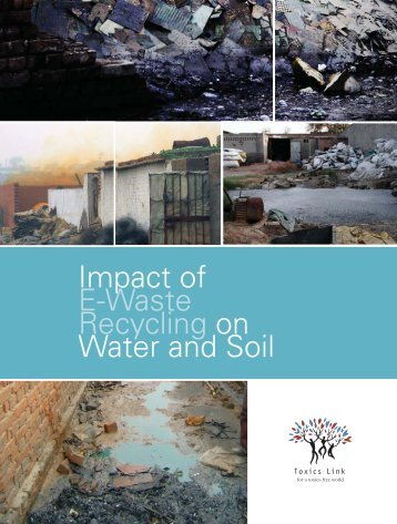 Impact-of-E-waste-recycling-on-Soil-and-Water