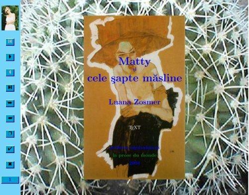Matty şi cele şapte măsline - Equivalences.org