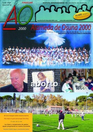 junio 2009 - Asociación de Vecinos Alameda de Osuna 2000