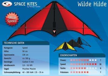 Wilde Hilde - Space Kites