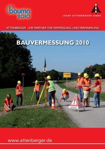 BAUVERMESSUNG 2010 - CST/berger