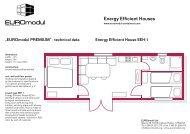 Energy Efficient Houses - EUROmodul international