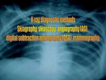 characteristic x-rays rays