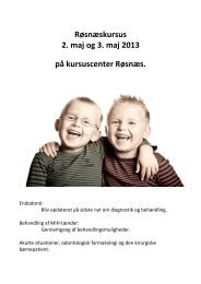 Roesnaes_program_2013 - De Offentlige Tandlæger