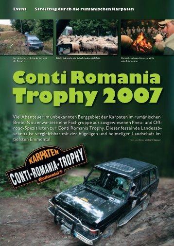 Conti Romania Trophy 2007 - XTEC