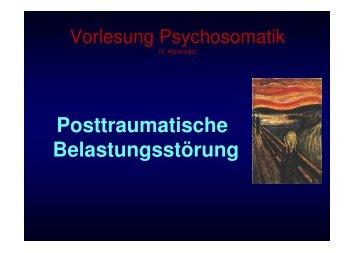 Trauma - Klinik für Psychiatrie, Psychosomatik und Psychotherapie