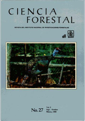 Vol. 5 Num. 27 - Instituto Nacional de Investigaciones Forestales ...