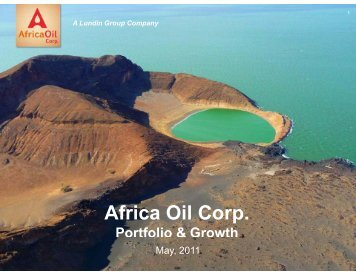 May 2011 Download in PDF format - Africa Oil Corp.