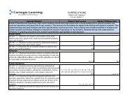 KY Algebra 1.XLS - Carnegie Learning