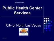 Attachment #4 - Southern Nevada Health District
