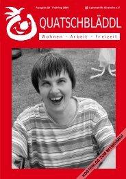 Ausgabe 29 - Lebenshilfe Sinsheim eV und Kraichgau Werkstatt für ...