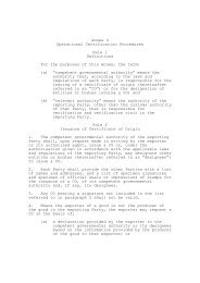 Annex 4 Operational Certification Procedures Rule 1 Definitions For ...