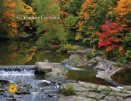 2010 Donor Report - Western Reserve Land Conservancy
