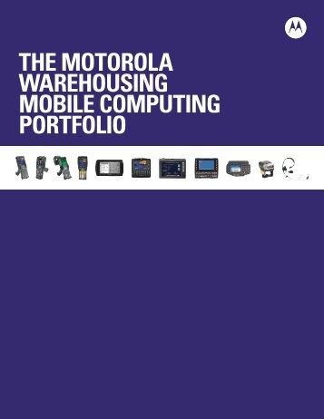 Warehousing Mobile Computing Portfolio Brochure - Motorola ...