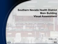 Receive and Discuss - Southern Nevada Health District