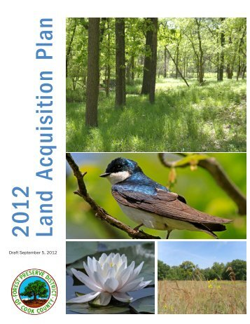2012 Land Acquisition Plan - Forest Preserve District of Cook County